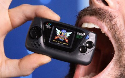 The Smallest Official Handheld Game Console