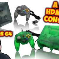 The Warrior 64 - A NEW HDMI Nintendo 64 Console For $150? Too Good To Be True? Intec Gaming N64