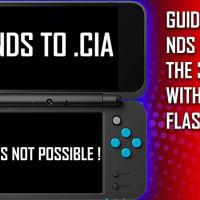 CREATING NDS GAMES FORWARDER ON THE 3DS : NOT CONVERTING NDS TO CIA !