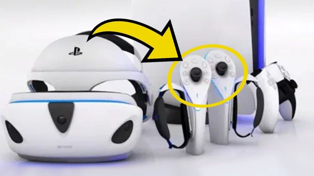 Leaked PSVR 2 Shows Haptic Headset & Overhauled Controllers