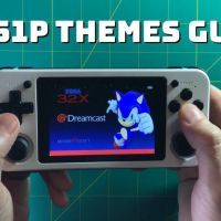 RG351P themes guide - scrape box art, download and customize themes!