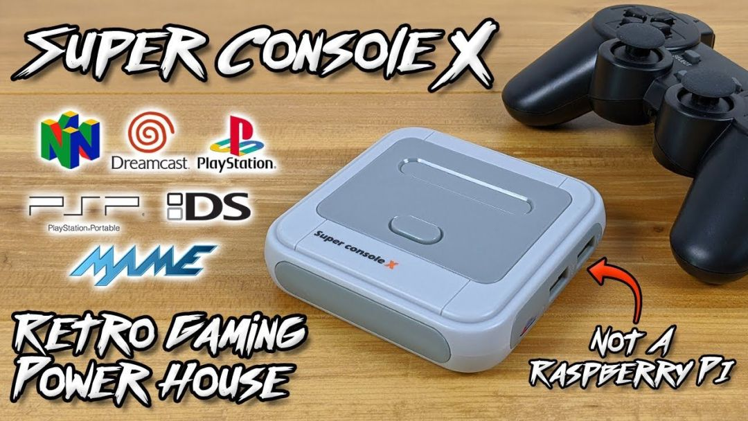 Super Console X Review - The Ultimate Retro Emulation Console? - The  GamePad Gamer