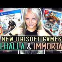 What I think of Immortals Fenyx Rising and Assassin's Creed Valhalla! + Going back to Atelier Ryza