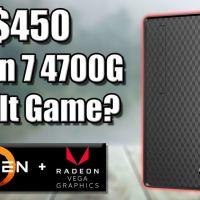 Cheapest Ryzen 4700G Prebuilt PC - Can It Game?