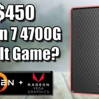 Cheapest Ryzen 4700G Prebuilt PC - Can It Game?