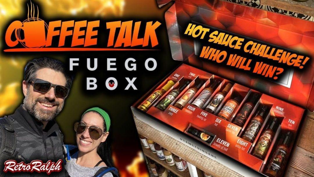 Coffee Talk Special – Hot Sauce Challenge – Klassic Kim vs. Retro Ralph!