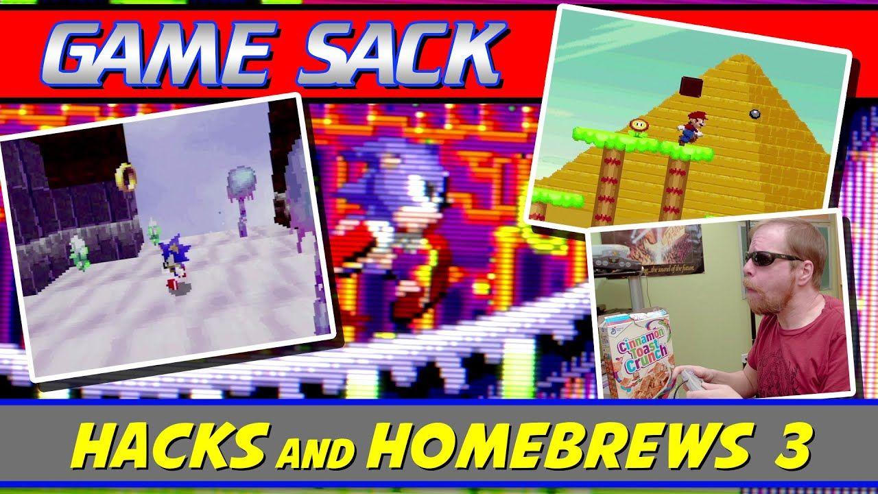 Hacks and Homebrews 3 – Game Sack