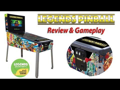 Legends Pinball Machine Review .. Is it good ?