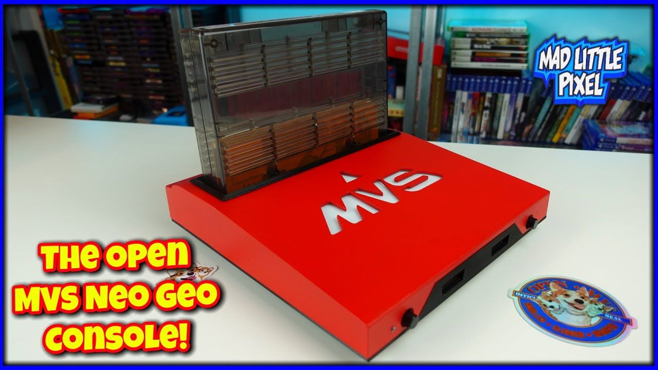 A NEW Consolized Neo Geo MVS – The OMVS From TaiToc Labs! Review, Teardown & Video Testing!