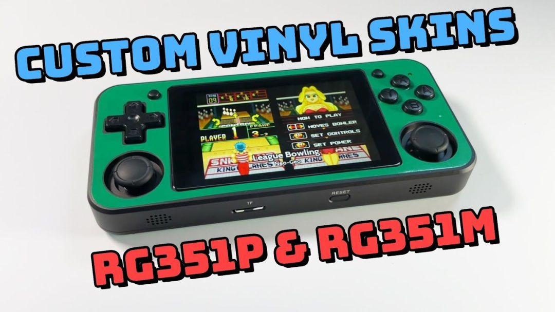 Custom Vinyl Skins for RG351P & RG351M!