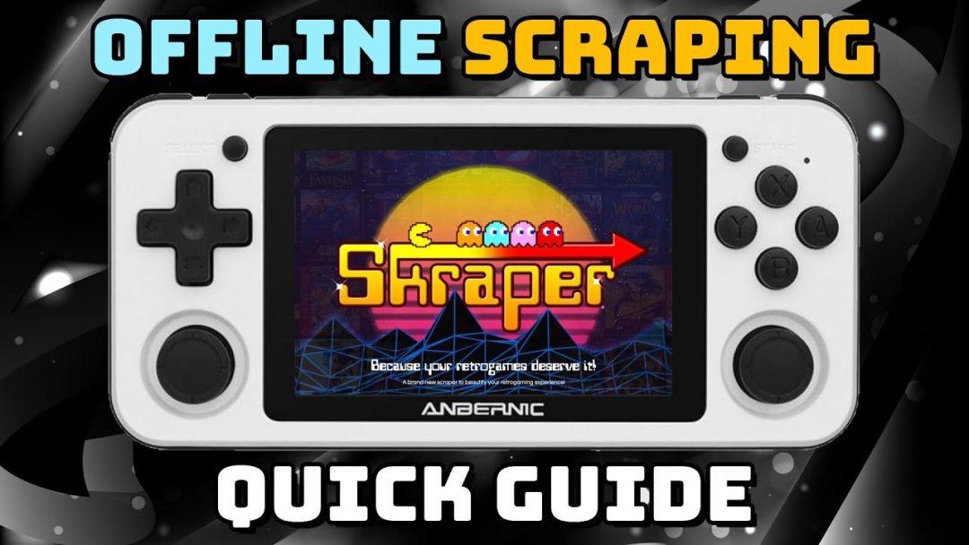 Guide: Skraper for Retro Handheld Devices (RG351P, RG351V, ODROID Go Super, and more)