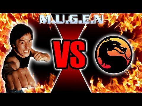 Jackie Chan vs  Mortal Kombat MUGEN Style 🙌