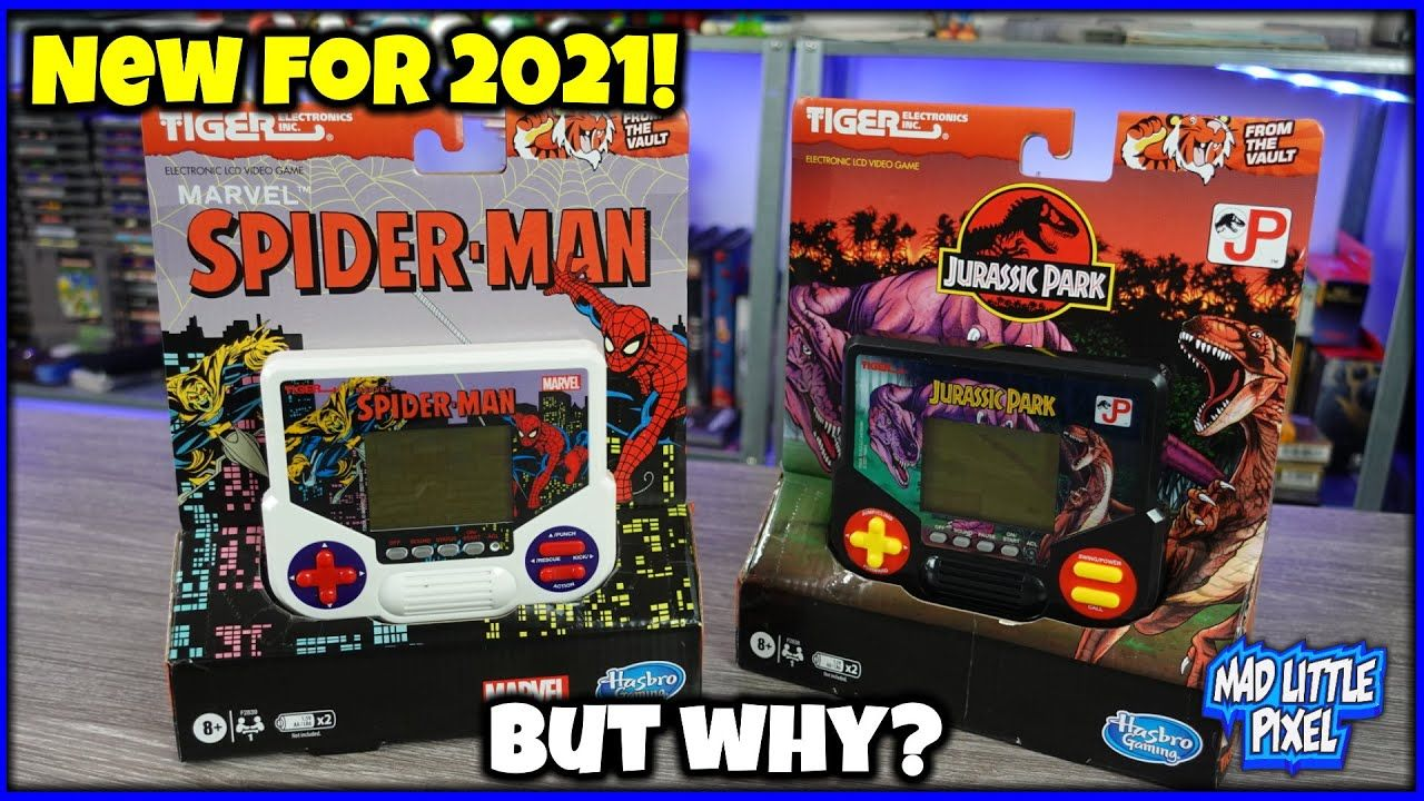 Forget The Valve Steam Deck Or Switch OLED! 2021 Is About The Tiger Electronics LCD Handhelds!
