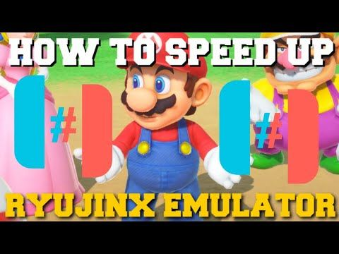 HOW TO SPEED UP RYUJINX EMULATOR TO GET MAX PERFORMANCE GUIDE!