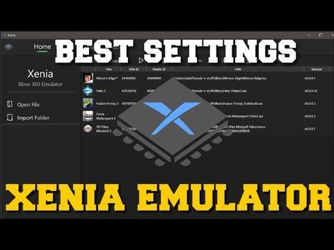 XENIA EMULATOR BEST SETTINGS 60FPS,4K RESOLUTION,RESOLUTION SCALE & INCREASE FPS GUIDE!