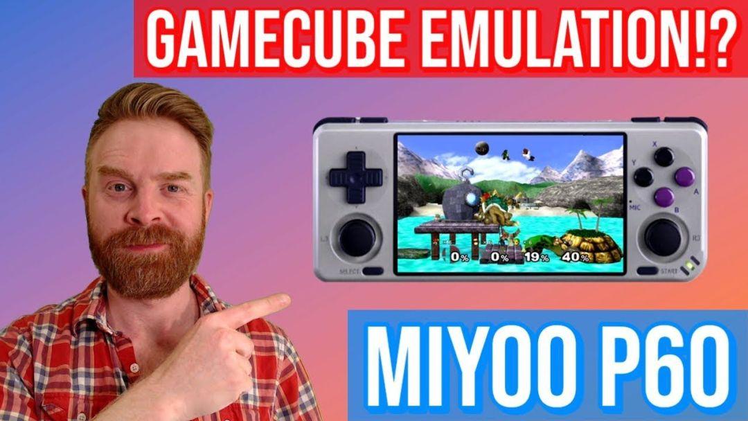 Nintendo GameCube on a Retro Gaming Emulation Handheld: MIYOO P60