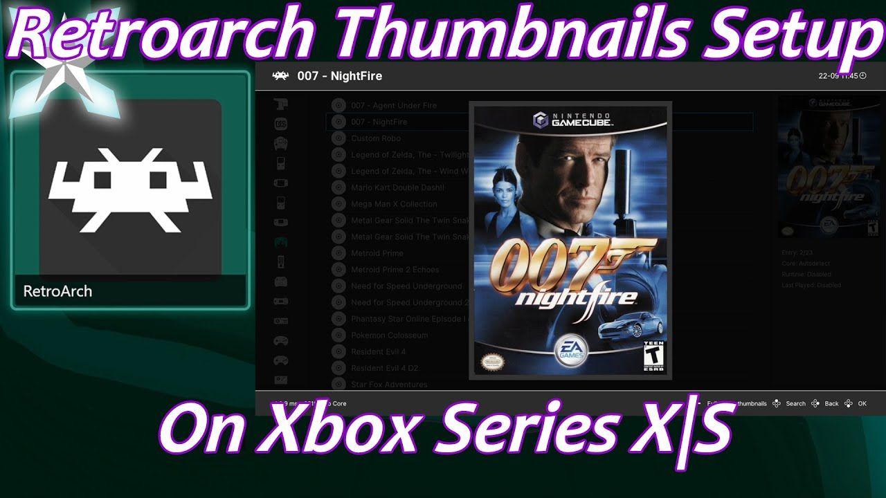 [Xbox Series X S] How To Setup Retroarch Playlist Thumbnails Ver 2.0 – Dev Mode