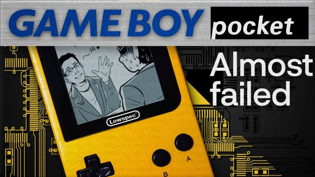 How Nintendo (almost) ruined the Game Boy Pocket