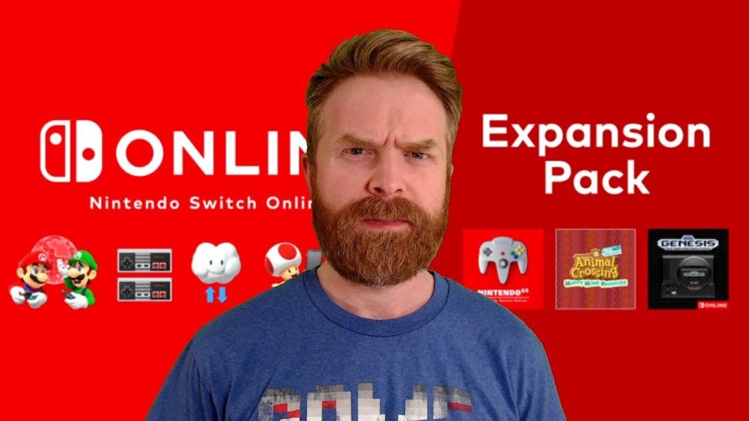 Nintendo Switch Online Expansion Pack is a ripoff