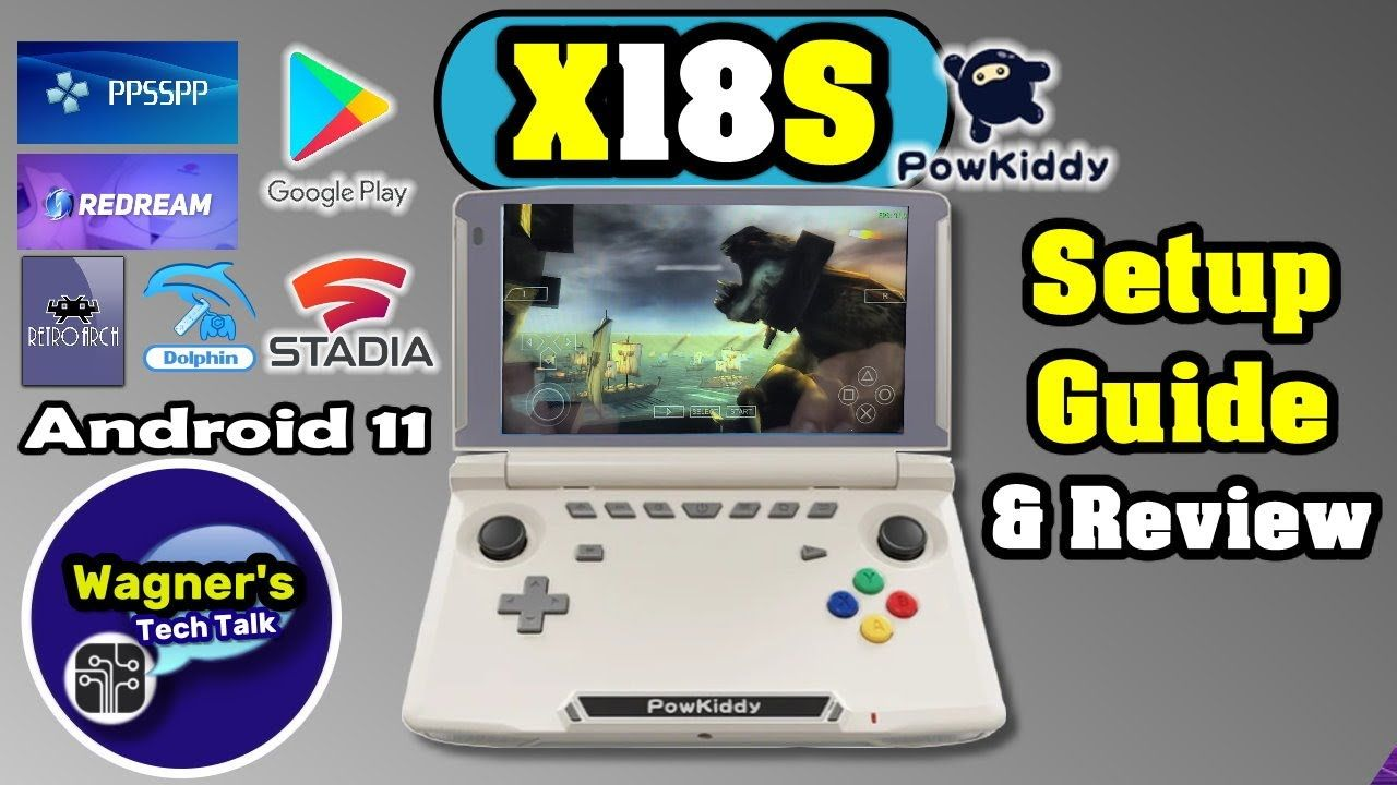 Powkiddy X18S Setup Guide & Review with Game Play – Impressive Device!
