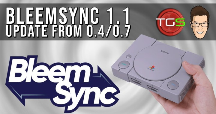 Bleemsync 1.1 Update from 0.4 / 0.7 | PS Classic Tutorial | USB 3.0 via OTG!