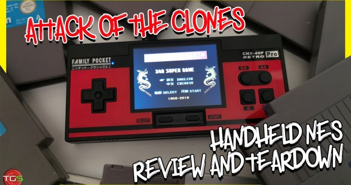 Family Pocket – NES Clone Handheld – Review & Teardown (GearBest)