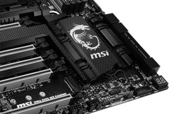 MSI X99A GODLIKE GAMING CARBON Edition 2