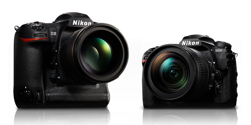 Nikon D5 D500