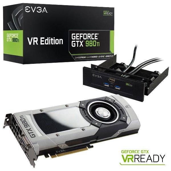 EVGA GeForce GTX 980 Ti VR EDITION GAMING