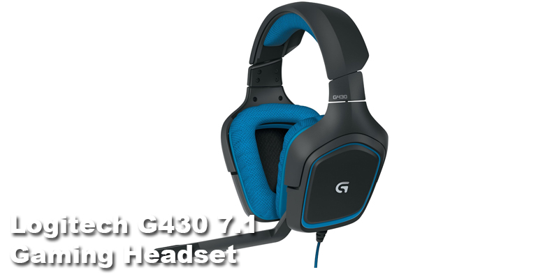 Logitech G430 Gaming Headset