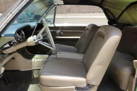 1962 Thunderbird Convertible interior