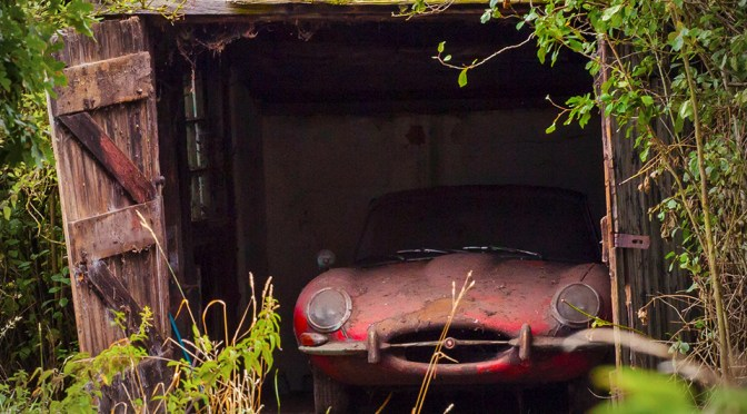 Como Fica um Jaguar Depois de Estar 40 Anos Abandonado?
