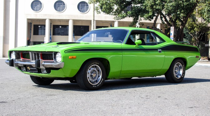 1973 Plymouth Barracuda a venda