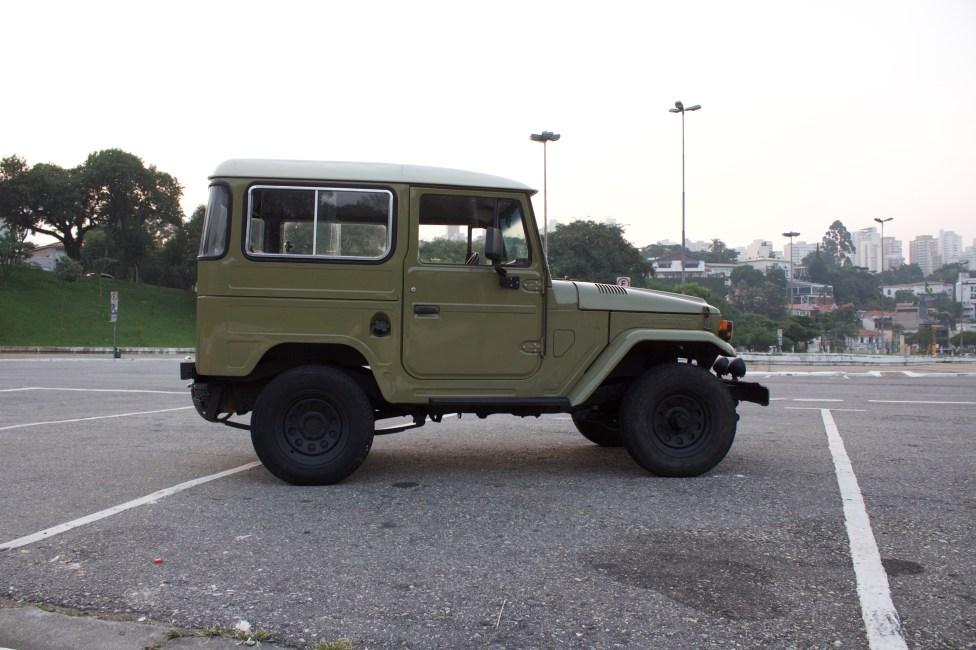 1981 Toyota Bandeirante a venda na the garage loja de carros antigos
