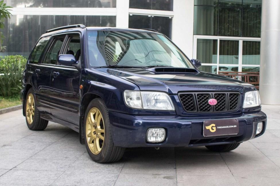 2000 Subaru Forester WRX Swap a venda