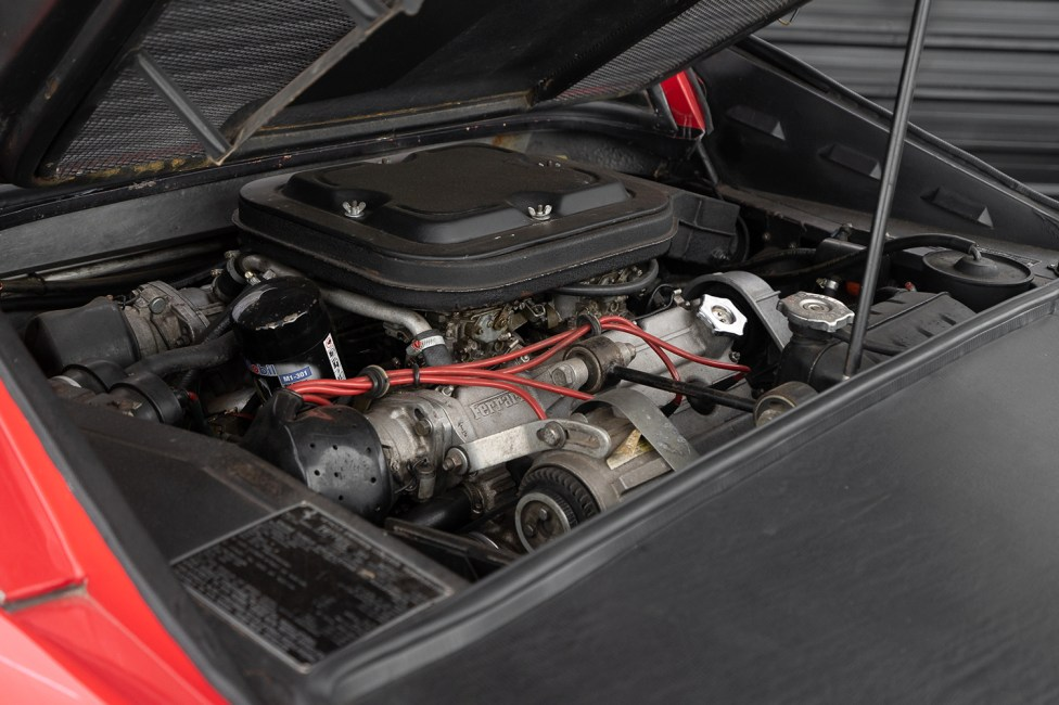 Ferrari 308 GTS 1978 motor