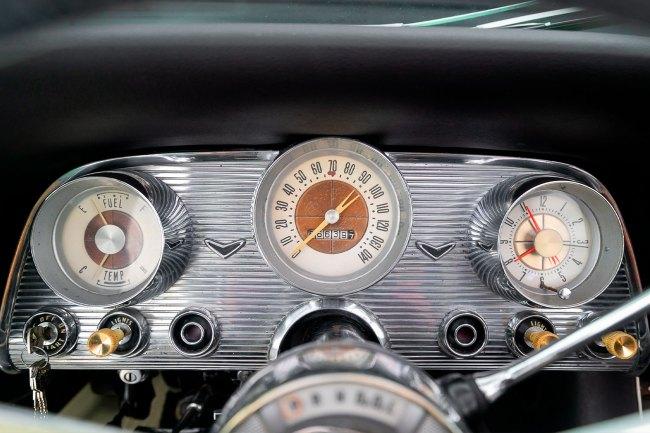 Ford-Thuderbird-the-garage