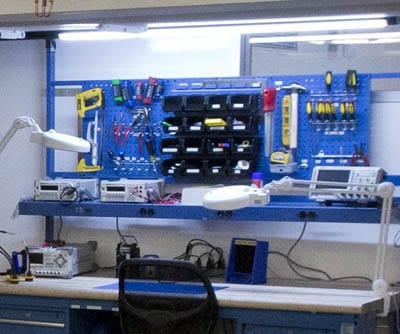 Electronics Workbench The Garage At Northwestern