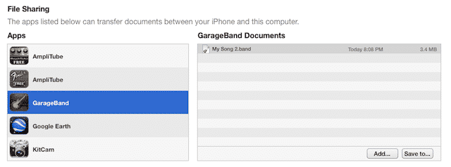 Garageband IOS: How To Move Your Projects To Mac OS X