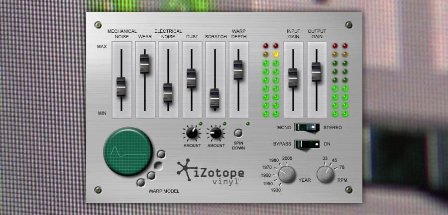 You Need This Plug-In #2 - Izotope Vinyl - thegaragebandguide com