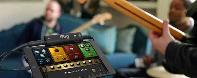 iRig HD Garageband