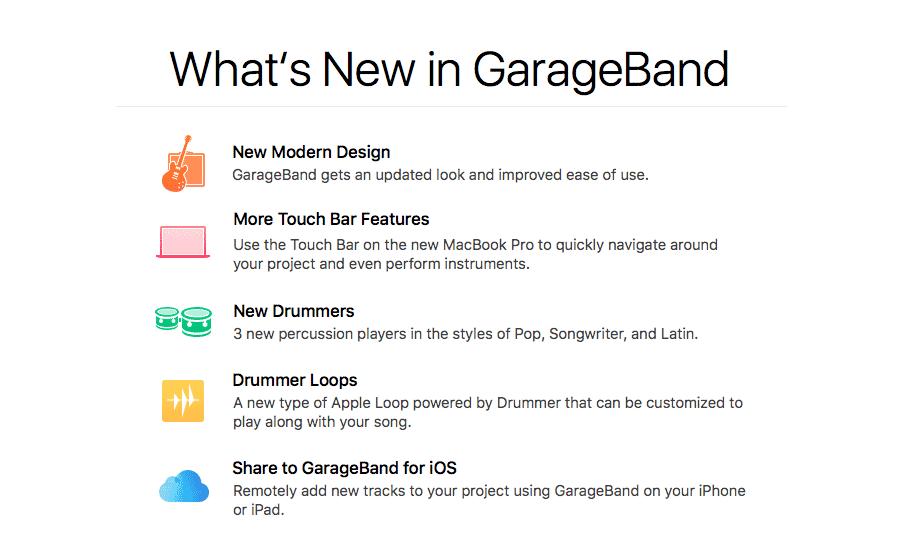GarageBand 10 2 Update - thegaragebandguide com