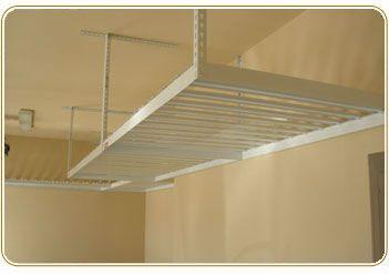 Overhead Garage Storage Racks One Care Layout