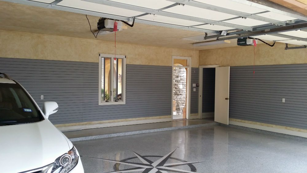 Slatwall Garage Garage King w Car Parked