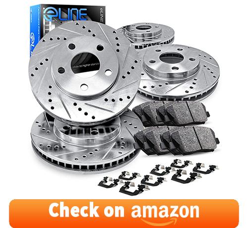 eLine Drilled Slotted Brake Rotors