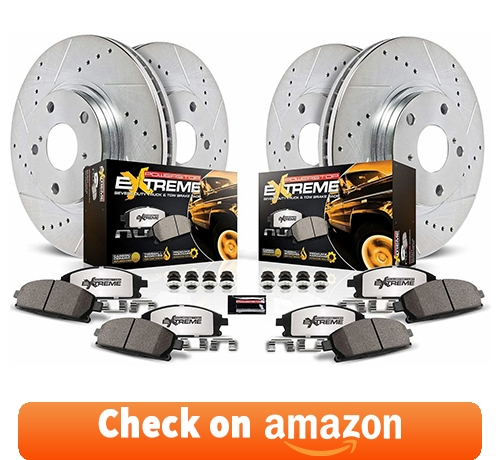 Power Stop K6268-36 Z36 Truck and Tow Front and Rear Brake Kit reviews