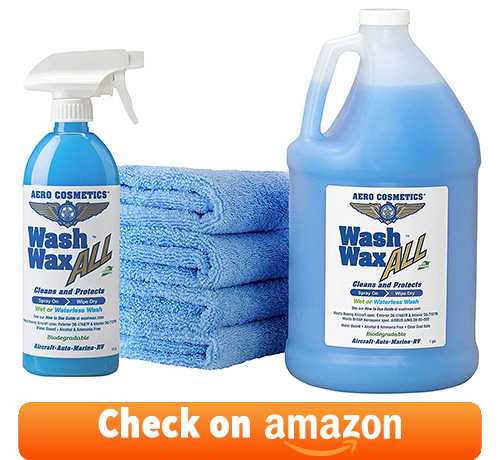 Aero Cosmetics Wet Waterless Car Wash Wax Kit