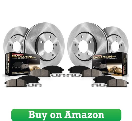 Autospecialty (KOE5828) Daily Driver OE Brake Kit, Front, and Rear