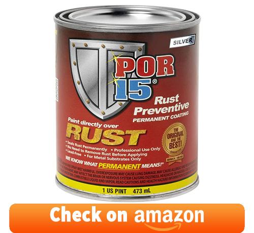 POR-15 45308 Silver Rust Preventive Coating