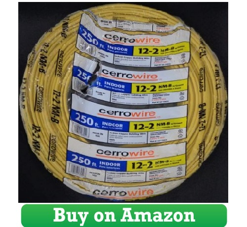 250-Ft Roll 12-2 AWG NM-B Gauge Indoor Electrical Copper
